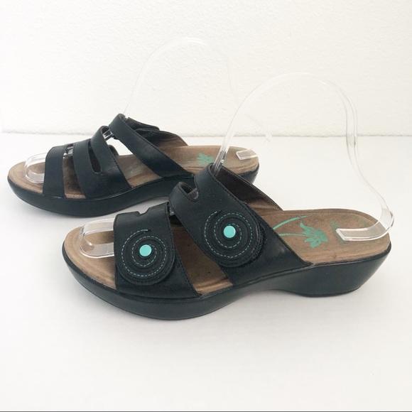 9f3b39c4e6 Dansko Shoes - DANSKO Dixie Black Comfort Clog Sandal Size 37